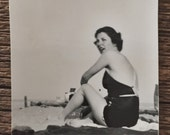 Original Vintage Photograph Beauty Beware