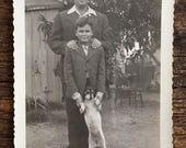 Original Vintage Photograph Sonny & Pip