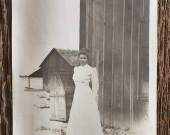 Original Vintage Photograph Caroline on the Prairie
