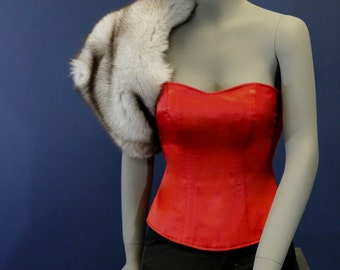 In Stock - Taylor Lane Designs Overbust Red Size Small