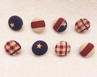 Fabric Cover Button Multicolor Small Button Sewing Button Random Color Button