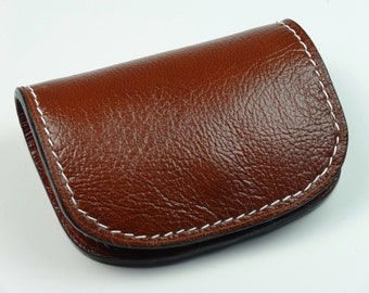 Women's Leather Purse Card Holder - Men's Leather Purse Card Holder - Maxence - Hand Swen
