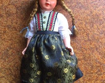 Vintage German doll