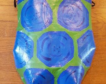 Wearable turtle shell