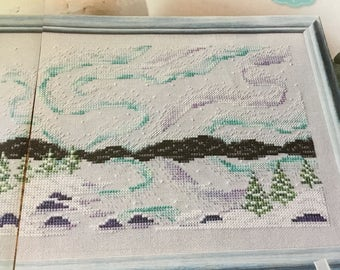 NORTHERN LIGHTS - Cross Stitch Pattern Only