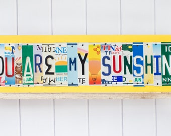 You Are My SUNSHINE sign - Gift for Mom - Mother's Day gift - thoughtful gift for mom from kids - gift from favorite child - For Mom