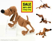 134 Crochet Pattern Dog Dachshund Genreh - Amigurumi  PDF file by Chirkova Etsy