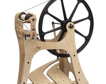 Schacht Flatiron Saxony Spinning wheel