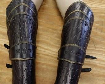 Leather Armor Dragon Scale Bracers