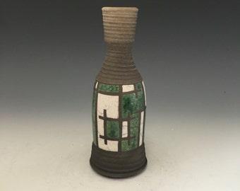Mini Raku Vase - Frank Lloyd Wright - Handmade Pottery - Home Decor