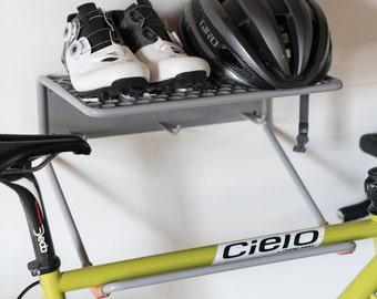 Bike rack, bike shelf, wall mounted