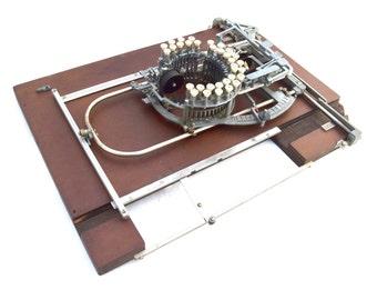 Rare Keaton Music Typewriter, Instrument for Musical Notation