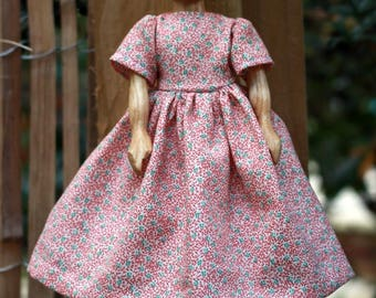 Pretty Spring and Summer Dress for Wooden Hitty Doll