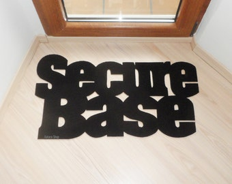 Secure base floor mat. Elegant and cool home decor. Custom rug.