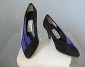 Colorblock Suede shoes / ...