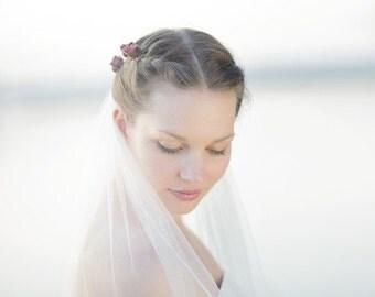 Bridal veil, ivory
