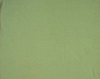 Cotton Jersey Stretch Spandex Slate Green 58 Inch Fabric by the yard - 1 Yard