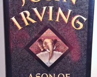 A Son Of The Circus by John Irving First Trade Edition Fiction 1994 Hard Cover Dust Jacket Near New