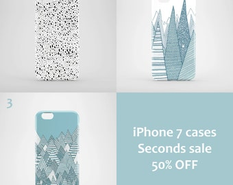 iPhone 7 Seconds Sale / illustrated iphone 7 cases / bargain iPhone 7 cases / 50 % off
