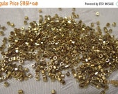 Boxing Week Sale DB-34 Cuts, Miyuki Delica Beads, Size 11/0, Opaque Light 24KT Gold Finish - 2 grams or choose a Larger Pkg from the 'Select