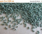 Boxing Week Sale DB-414, Miyuki Delica Beads, Size 11/0, Galvanized Dark Sea Foam- 2 grams or, choose a Larger Pkg from the 'Select an Optio