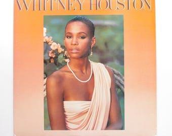 Whitney Houston - Vintage Vinyl Record - Her First Album - 1985