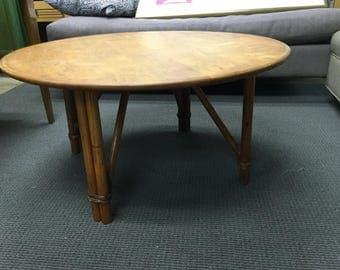 classic vintage 50u0027s rattan coffee table