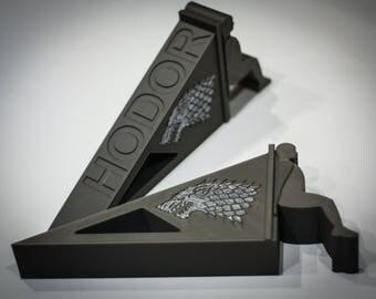 Hodor Door Stop | Game of Thrones | Hodor door stop with House Stark Sign | Doorstop | Hodor