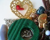 Junk Destash - Jewelry Scraps - Doo Dads  - Jewelry Scrap Lot