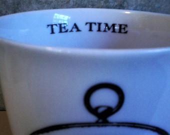 """12 ounce """"Tea Time"""" Cup"""