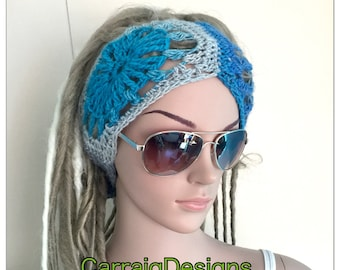 BUY1GET1HALFPRICE Designer unique headband womens teens handmade dread tube wrap hippy hippy boho festival ear warmer yoga ski dreadlocks so
