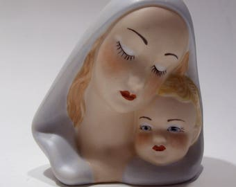 Madonna and Child Ceramic Figurine Great New Mother Gift