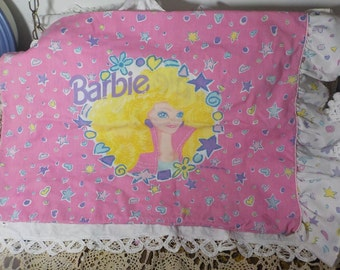 1991 Barbie Twin Pillow Case/ Not included in Coupon Sale