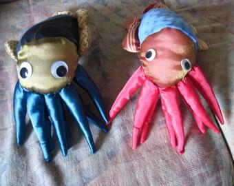 Cuddle-fish - Handmade Cuttlefish Plush