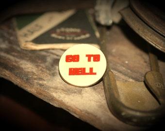 Vintage Novelty Hat Pin