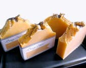 Orange Clove Cold Process Soap - Rustic Soap - Natural Handmade - Extra Lather