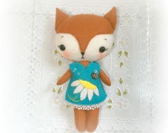 Spring Fox Girl - April
