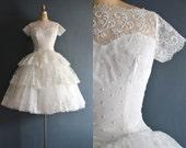 Leelee / 50s wedding dress / bridal gown