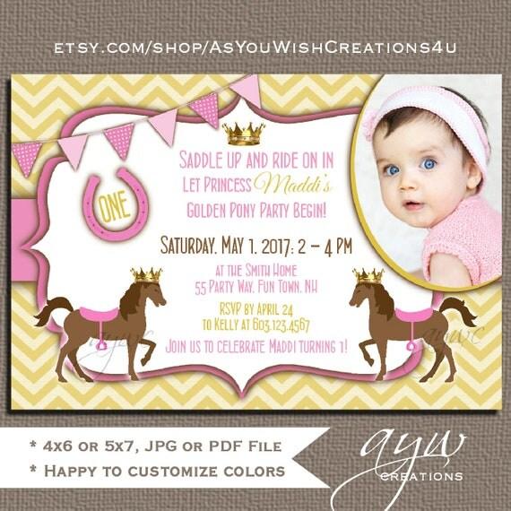 il_570xn - Horse Party Invitations