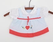 Vintage Newborn Baby Dress with Embroidery 0 to 6 months