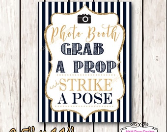 Photo Booth Sign - Party Photo Booth - Photo Booth Sign - Photo Booth Printable - DIY INSTANT DOWNLOAD