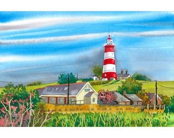 Lighthouse Happisburgh Norfolk