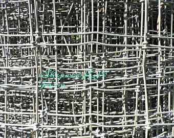 Fence Wire Art DIGITAL Download Styled Stock Photography Industrial Primitive Rustic Grunge Steampunk Farm Ranch Mockup COMMERCIAL LICENSE
