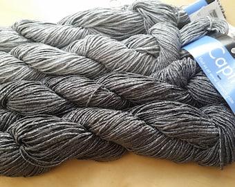 CAPTIVA YARN  Silver grey and gunmetal grey