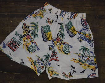Puerto Rico Travel Loose Shorts