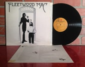 Fleetwood Mac Self Titled Vinyl Record Album LP 1975 / 1977 With Insert Classic Folk Rock Music Stevie Nicks Vintage