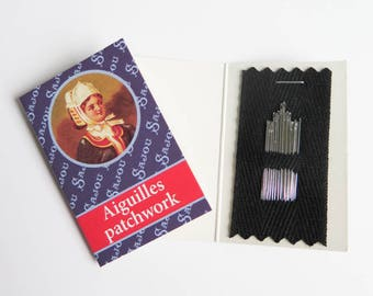 20 Patchwork Needles | Maison Sajou French Sewing Needles Sizes 7, 9, 10, 12