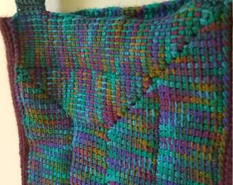 10- Stitch Tie-Die Handbag