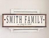 Family established sign