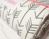 Nap Mat with Matching Diaper Bag for Marissa